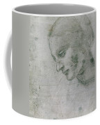 Head Of A Young Woman Or Head Of The Virgin Coffee Mug