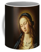 Head Of The Madonna Coffee Mug