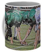 Head To Head Digital Art Coffee Mug