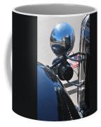 Headlamp And Flags Coffee Mug