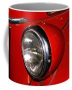 Headlamp On Antique Fire Engine Coffee Mug