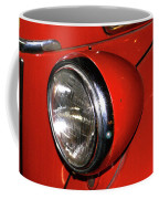 Headlamp On Red Firetruck Coffee Mug