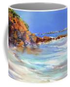 Headland At Lowtide.. Coffee Mug
