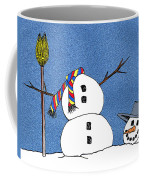 Headless Snowman Coffee Mug