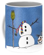 Headless Snowman Coffee Mug by Nancy Mueller
