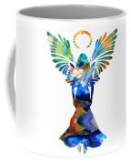 Healing Angel - Spiritual Art Painting Coffee Mug