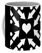 Heart And Arrows Coffee Mug