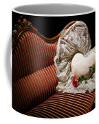 Heart And Rose Victorian Style Coffee Mug