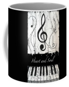 Heart And Soul - Music In Motion Coffee Mug