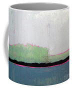Heart Lake - Abstract Landscape Coffee Mug