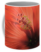 Heart Of Hibiscus Coffee Mug
