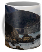 Heart Of The Bixby Bridge Coffee Mug