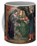 Heart Of The Rose Coffee Mug by Sir Edward Burne-Jones