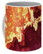 Heart On Fire Coffee Mug