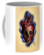 Heart Skull Coffee Mug