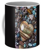 Heart Stone Coffee Mug by Garry Gay