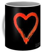 Heart - Symbol Of Love - Watercolor Painting Coffee Mug