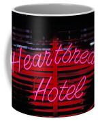 Heartbreak Hotel Neon Coffee Mug
