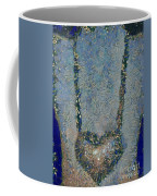 Hearted On Your Wall Again Medalion Painting Coffee Mug