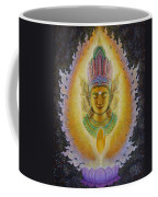 Heart's Fire Buddha Coffee Mug