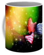 Hearts Racing Coffee Mug