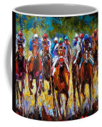 Heated Race Coffee Mug