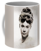 Heather Sears, Vintage Actress Coffee Mug