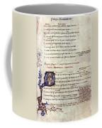 Heautontimoroumenos Coffee Mug