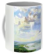 Heavenly Clouded Beauty Abstract Realism Coffee Mug