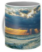 Heavenly Sunrise Panorama At Riviera Beach  Coffee Mug