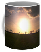 Heavenly Sunset Over Suffolk Coffee Mug