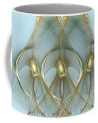 Heavenly Wings Of Gold Coffee Mug