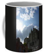 Heavens Above Mont St. Michel Abbey Coffee Mug