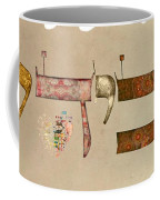 Hebrew Calligraphy-avida Coffee Mug