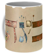 Hebrew Calligraphy-avigad Coffee Mug