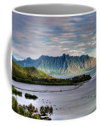 He'eia Fish Pond And Kualoa Coffee Mug