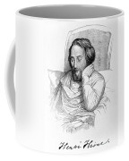 Heinrich Heine, German Writer Coffee Mug