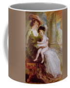 Helene Fourment And Her Son Frans Coffee Mug
