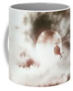 Helicopter Silhouette Coffee Mug
