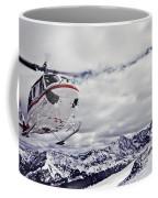Helihiking In The Canadian Rockies Coffee Mug