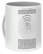 Heliocentric Universe, Copernicus, 1543 Coffee Mug by Science Source