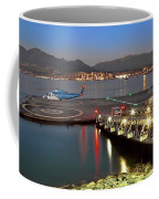 Heliport In The Vancouver's Port Coffee Mug