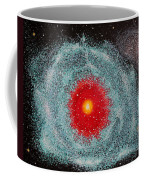 Helix Nebula Coffee Mug by Georgeta  Blanaru
