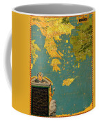 Hellenic Peninsula Greece, Albania, Bosnia And Bulgaria Coffee Mug