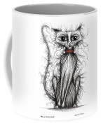 Hello Fuzzy Cat Coffee Mug