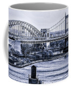 Hells Gate Bridge Triborough Bridge  Coffee Mug