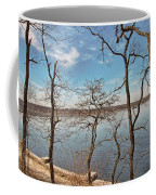 Hempstead Harbor Through The Trees Coffee Mug