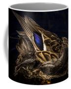 Hen Preening Coffee Mug