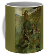 Henri From Toulouse-lautrec 1864 - 1901 Allegory, The Life Spring Coffee Mug