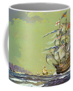 Henri Grace A Dieu, Or The Great Harry Coffee Mug